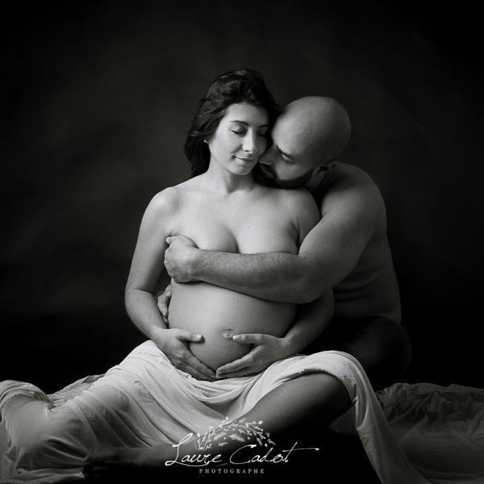seance grossesse chez laure cadotphotographe