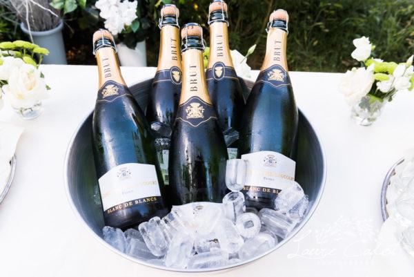 champagne au mariage