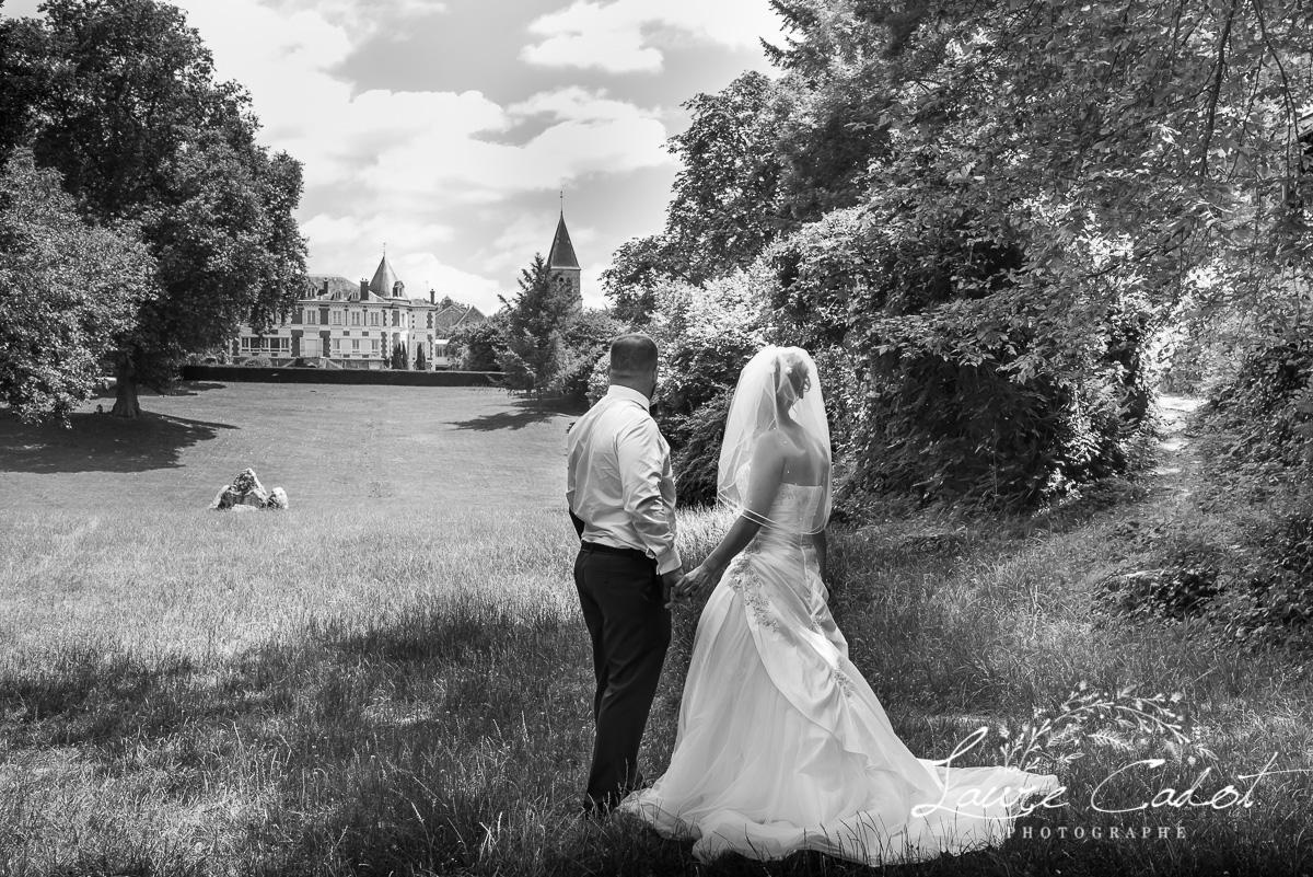 mariage dans le parc de Pringy