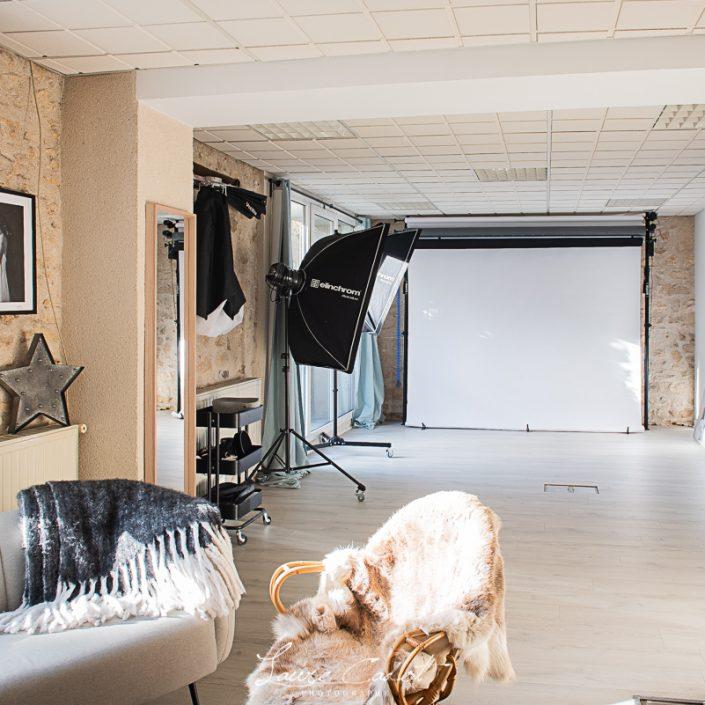 Studio photo pour shooting nouveau né et grossesse