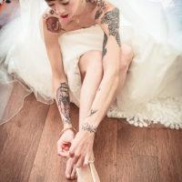 photographe préparation mariée