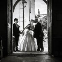 mariage a l'église de Savigny le temple