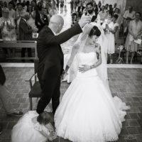 mariage au château Courance