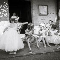 les enfants pendant les mariages
